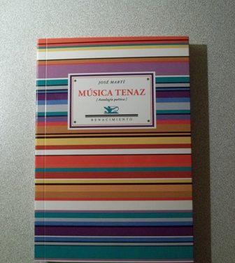 Edición de Música tenaz. Antología poética