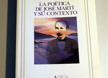 La poética de José Martí y su contexto